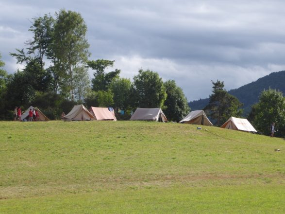 Chantier scoutLieu de camp